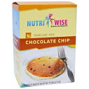 ショッピングプロテイン NutriWise - Chocolate Chip Protein Diet Pancake Mi