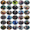30 x Edible Cupcake Toppers - Avengers Movie Part