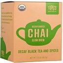 Tipu's Authentic Indian Chai Original Decaffeinated Slow Brew Chai Box