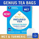 VitaCup Genius Blend Infused Tea 14 ct |Keto|Pal