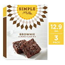 Simple Mills Almond Flour Mix, Brownie, 12.9 Ounce (Pack o