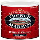 French Market Coffee, Coffee & Chicory, Dark Ro