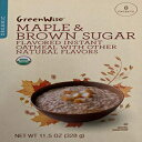 GreenWise Organic Maple & Brown Sugar Flavored In