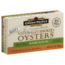 ショッピングLIVE Crown Prince Oyster Smoked Olive Oil 3.0 OZ (Pac
