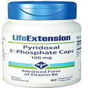 Life Extension Pyridoxal 5-Phosphate 100 Mg Vegetar