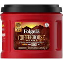 Folgers Coffeehouse Blend Medium Dark Roast Ground