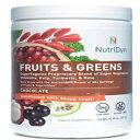 ショッピング野菜 Nutri-Dyn Dynamic Fruits and Greens Chocolate Powde