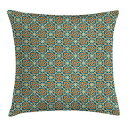 Ambesonne Orient Throw Pillow Cushion Cover, Style Flower