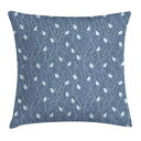 Ambesonne Leaves Throw Pillow Cushion Cover, Branc