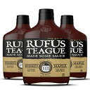Rufus Teague WHISKEY MAPLE BBQ SAUCE – (3 Pack
