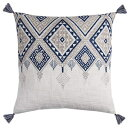 "Rizzy Home T11500 Decorative Pillow, 20""X20"", W"