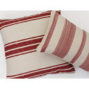 Thro by Marlo Lorenz Throw Pillow, Natural Red