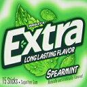Wrigley's Sugar Free Gum, Extra Spearmint,20 count,15 sticks each
