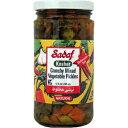 サダフカリカリ野菜のピクルス、12オンス(コーシャ) Sadaf Crunchy Mixed Vegetable Pickles, 12 Oz (Kosher)