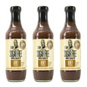 G Hughes Sugar Free Honey BBQ Sauce 18 oz (3 P
