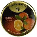 キャベンディッシュ&ハーベイフルーツスズ-オレンジ、5.3オンス Cavendish & Harvey Fruit Tin - Orange, 5.3-Ounce