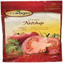 ショッピングPackage ミセスウェイジズケチャップミックス、5オンスパッケージ(6パック) Mrs. Wages Ketchup Mix, 5-Ounce Packages (Pack of 6)