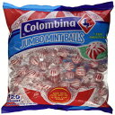 Jumbo Red & White Peppermint Hard Candy Balls 12
