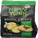 楽天GlomarketB&G FOODS,INC New York Style Bagel Roasted Garlic Crisps, 0.53 Pound