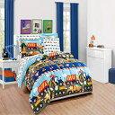 MK Home 7pc Queen Comforter and Sheet Set Teens/B