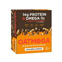 ショッピングプロテイン OATMEGA Protein Bar, Chocolate Peanut, Energy Bar