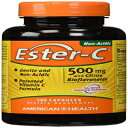 American Health Ester-C with Citrus Bioflavonoids Capsules - 24-Hour Immune Support, Gentle On Stomach, Non-Acidic Vitamin C - Non-GMO, Gluten-Free - 500 mg, 120 Count, 60 Servings