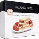 Strawberry Shortcake, BalanceDiet   Protein Bar