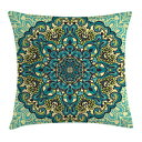 Ambesonne Ethnic Throw Pillow Cushion Cover, Abstr