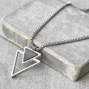 ショッピングスチール Handmade Long Stainless Steel Necklace For Men Set