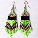 ショッピングシャンデリア African Zulu beaded earrings - Chandelier NEW DESI