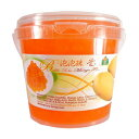 ショッピングマンゴー Bolle Beverages Bolle Popping Boba Pearls Bubble Tea, Ice Cream or Yogurt Topping 42.3 Oz. (Mango)