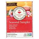 Traditional Medicinals Seasonal Herb Tea Sampler - 16 Tea Bags