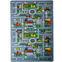 Mybecca Kids Rug City Map Fun Play Rug 3' X 5