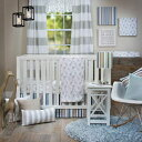 Glenna Jean Ollie & Jack 3Pc Crib Set with Quilt, Sheet Crib Skirt C