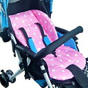 Ponini Stroller and Car Seat Replacement Parts/Accessories to fit Evenflo Products for Babies, Toddlers, and Children (Pink Polka Dot Cushion)