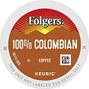 Folgers 100% Colombian Coffee, Medium Roast, K Cup Pods for Keurig Coffee Makers, 32Count