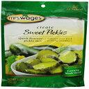 ショッピングPackage Mrs. Wages Sweet Pickle, 5.3-Ounce Packages (Pack of 12)