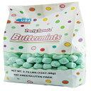 パーティースイーツミントグリーンバターミント、2.75ポンド、約 ホスピタリティミントから350個 Party Sweets Mint Green Buttermints, 2.75 Pound, Appx. 350 pieces from Hospitality Mints