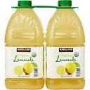 Kirkland Signature Organic Lemonade - 2 Count (192 fl oz.)