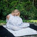 Gootoosh Nursing Cover + Bag Galaxy Star Print, Origami, Organic (Gray)