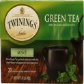 Twinings Green Tea Bags Mint -- 20 Tea Bags (Pack of 2)