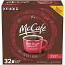 ショッピングボックス McCafe Premium Roast K Cup Coffee Pods (32 Count Box)