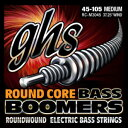 GHS Strings GHS Round Core Bass Boomers, 4-String Set, Medium Gauge (37.25