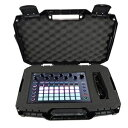 Casematix ArmorXL Travel Carrying Case Compatible with Novation Circuit, Circuit Mono Station, LaunchPad Pro or Launchpad Control xL in Customizable Foam