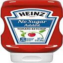 ショッピングスクイーズ ハインツ無糖スクイーズボトル(1-13 OZ)を追加通常のケチャップより75%少ない Heinz No Sugar Added Squeezable Bottle (1-13 OZ) 75% Less than Regular Ketchup