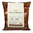 ショッピングレシピ Callebaut 823 Milk Chocolate Callets - 22 LBS Belgian Baking Chocolate Callets - Min 30.2% Cocoa butter, 4.9% fat free cocoa, 6% Milk fat, 15.8% Fat free milk - Recipe 823NV-595-22 Lbs (10 kg)