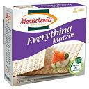 Manischewitz Matzo Everything