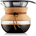 Visit the Bodum Store 17 Ounce, Cork, Bodum Pour Over Coffee Maker, 17 Ounce, .5 Liter, Cork Band
