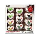 スターウォーズバレンタインデー友情交換キャンディー入りハート、22カウント Galerie Star Wars Valentines Day Friendship Exchange Candy Filled Hearts, 22 Count