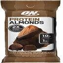 最適な栄養プロテインアーモンドスナック、On The Go栄養、フレーバー:ダークチョコレートトリュフ、低糖、ホエイプロテインアイソレ..